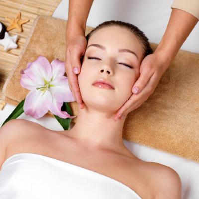 Cosmetic Facial, Neck and Cleavage Massage